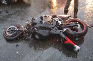 Гонки подростков на мотоцикле закончились больницей