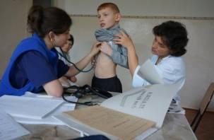 Почти у 30 процентов смоленских детей нашли желудочно-кишечные заболевания