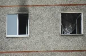 Маленькая девочка пострадала в пожаре в Рославле