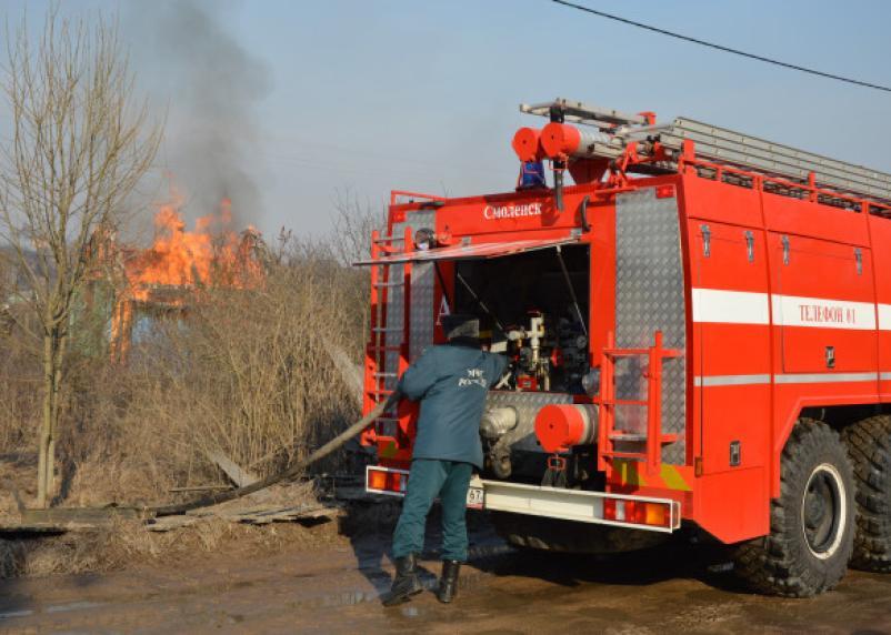 С 1 апреля в Смоленской области установят пожароопасный сезон
