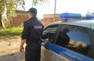 Смоленская Росгвардия задержала мужчин, находящихся в розыске