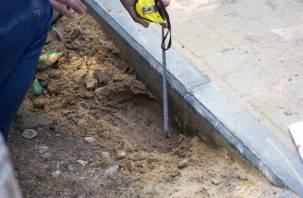 Строители парка в Соловьиной роще сэкономили на цементе?