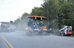 В Смоленской области отремонтируют более 60 км федеральных трасс и путепровод