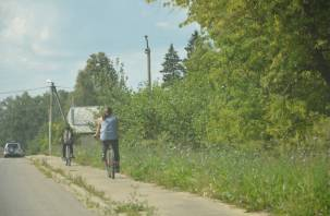 В Десногорске «Мазда» снесла пенсионера на велосипеде