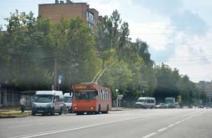 Из-за ремонта в Смоленске перестанут ходить троллейбусы