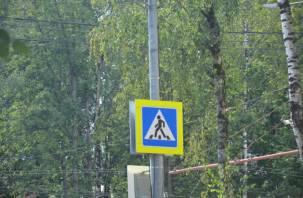 В Десногорске Шкода снесла мужчину на пешеходном переходе