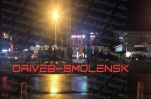 Стали известны подробности массовой ночной аварии в Смоленске