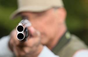 В Рославльском районе мужчина устроил стрельбу