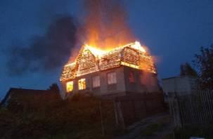 Соцсети: Во время пожара смолянин умер от сердечного приступа