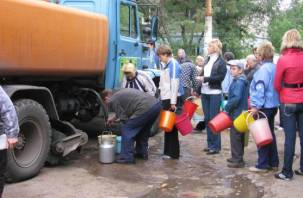 В Смоленске около десяти улиц останутся без холодной воды