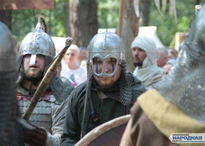 В Смоленске состоялся исторический фестиваль «Гнёздово 2018»