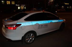 «Машина ДПС без морды». В Смоленске на окружной произошло серьёзное ДТП