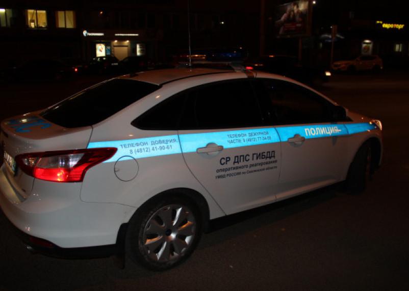 В Рославле в вылетевшем в кювет Рено пострадал водитель