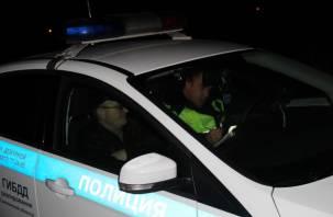 Смоленские гаишники поймали 18 пьяных водителей и 12 автомобилистов без прав