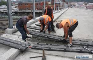 Что сейчас происходит на Беляевском путепроводе в Смоленске