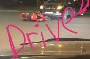 В Смоленске мотоциклист попал под внедорожник