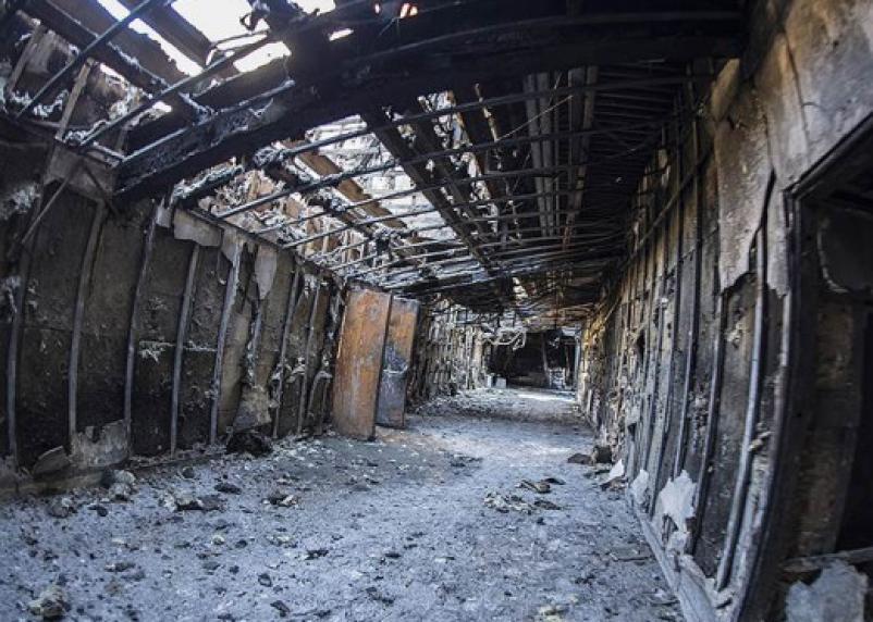 Стала известна истинная причина пожара в «Зимней вишне»