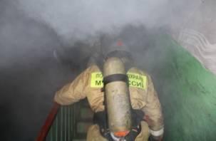 В Смоленске произошел пожар в многоэтажном доме