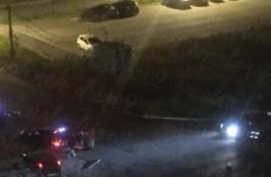 «Лежит на обочине». Подробности ночной аварии со сбитым мотоциклистом в Смоленске