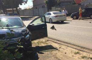 Пьяный водитель устроил аварию в смоленском райцентре