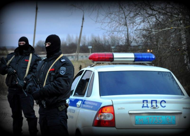 В Смоленске оцепили улицу из-за стрельбы
