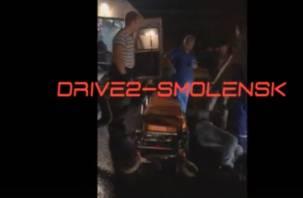 Подробности аварии со сбитым пешеходом в Смоленске