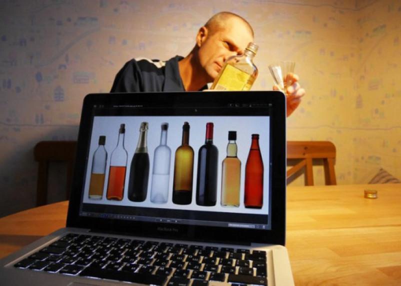 Далеко ходить не надо: смолянам начнут продавать алкоголь через Интернет
