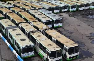 Трамваи не нужны? Смоленск получит 22 московских автобуса