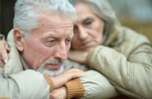 У пожилых нет материальных проблем. Есть психологические