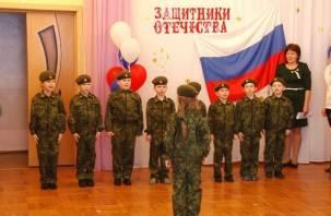 «Упал, отжался»: в России появятся военные детские сады