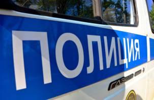 Пьяный смолянин скрылся с места ДТП и ударил полицейского
