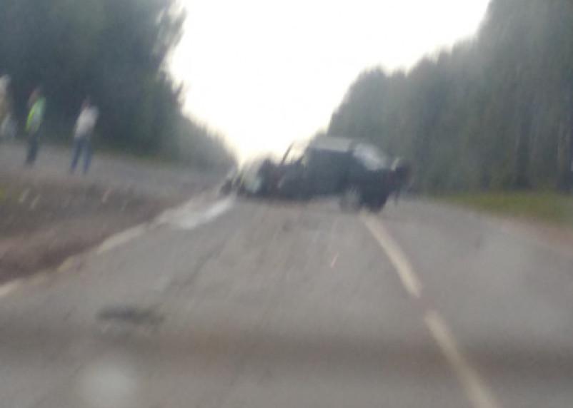 В Смоленской области в серьезной аварии пострадал человек