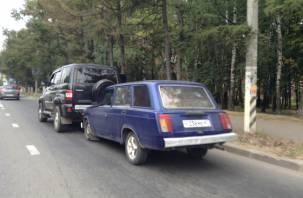 В Смоленске «четвёрка» подбила внедорожник