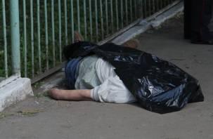 В Гагарине нашли на мосту труп мужчины