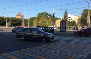 Авария в центре Смоленска остановила трамваи