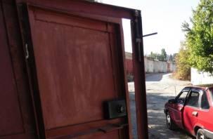 Смолянин обчистил гараж, проникнув туда через недостроенную крышу
