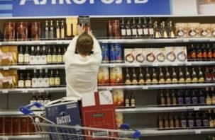 Скоро смоляне не увидят алкоголя на прилавках магазинов