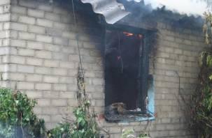 В Смоленской области мужчина и женщина сгорели заживо