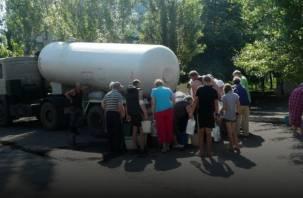 В Смоленске на улице Соколовского отключат холодную воду