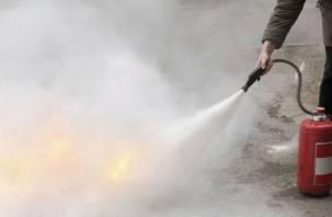 В Смоленске пожарные выезжали на тушение мазута