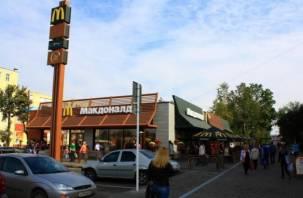 В McDonald's нашли антисанитарию, грызунов и подозрительную пищу