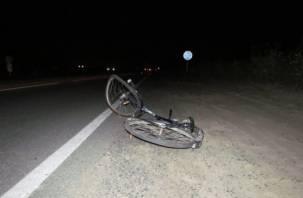 Под Смоленском велосипедиста насмерть сбила иномарка