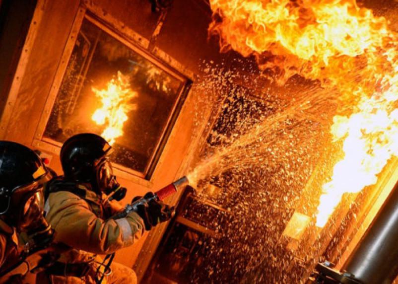 В Смоленске на Багратиона при пожаре в доме сгорел мужчина