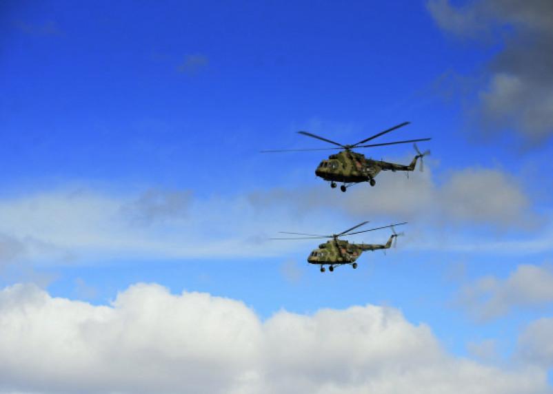 На Смоленщине проходят лётно-тактические учения с экипажами армейской авиации ЗВО