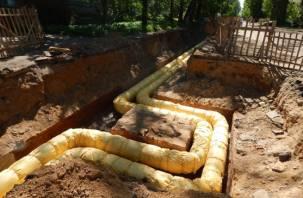 Смолянам вернули горячую воду. Раньше срока отремонтировали трубы на Чаплина