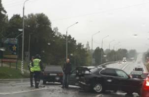 «ДТП из четырех авто». В Смоленске произошла серьезная авария