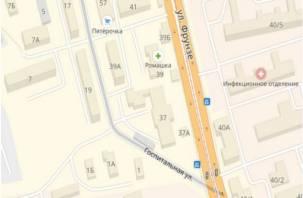 На улице Госпитальной в Смоленске продлено ограничение движения