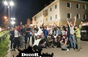 DozoR в Рославле оскандалился. Молодогвардейцы незаконно используют товарный знак