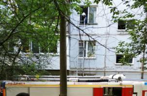 В Смоленске жильцов многоэтажки встревожило задымление в подъезде