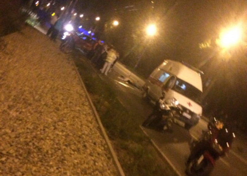 Мотоциклист труп. В Смоленске на Краснинском шоссе произошло ДТП